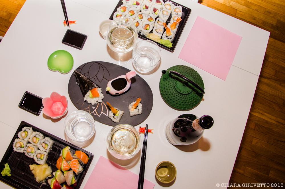 Take away sushi Kombu Torino