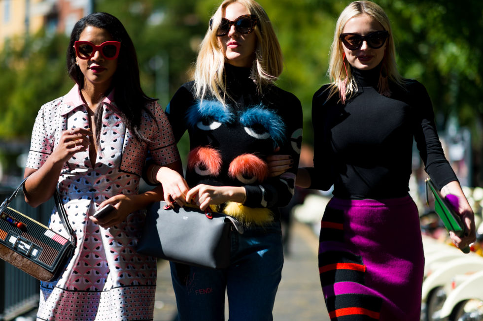 elle street style milano fashion week
