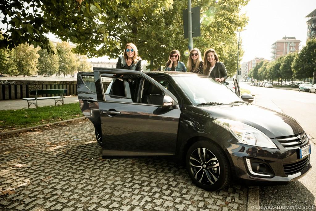Le Torino Fashion Bloggers sulla Swift Posh di Suzuki