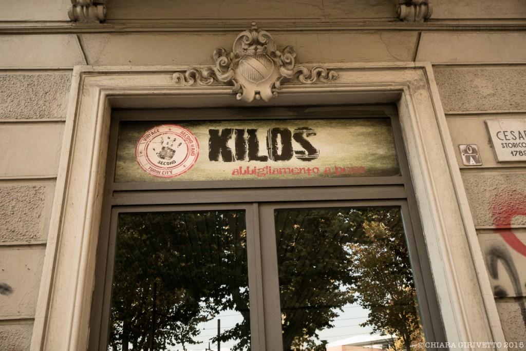Vetrina di Kilos a Torino