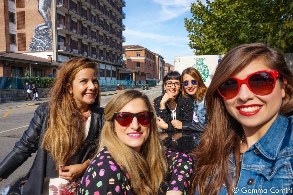 Selfie Torino Fashion Bloggers e Suzuki Swift Posh