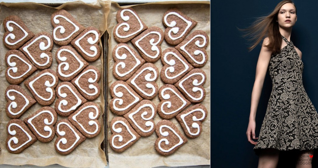 biscotti decorati abito mango ricette natalizie dolci