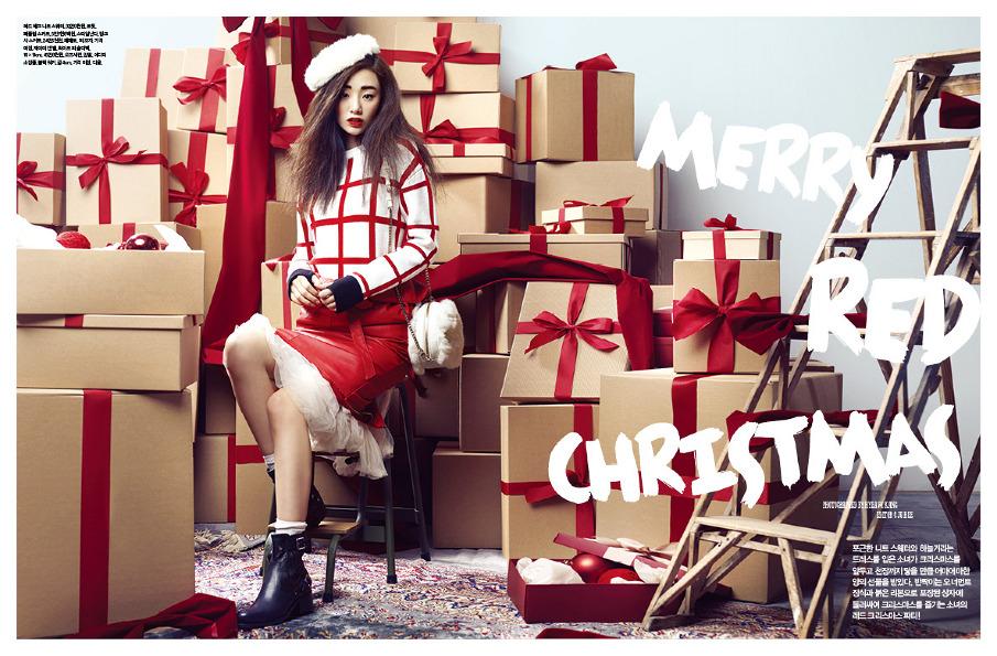christmas, elle girl korea, elle magazine, ediitorialia