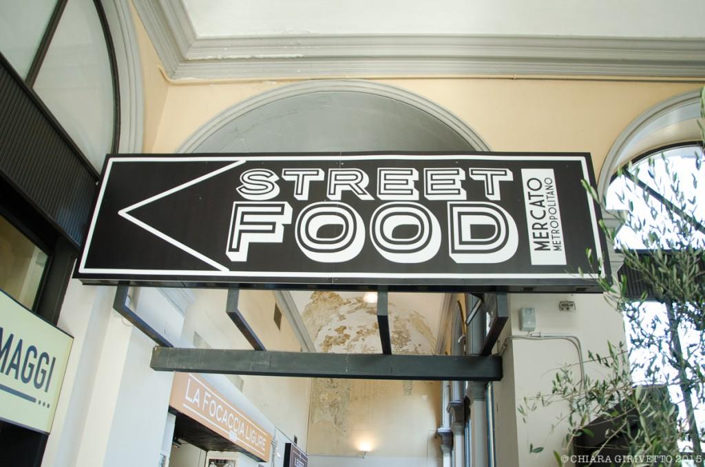 Mercato Metropolitano Torino street food cartello