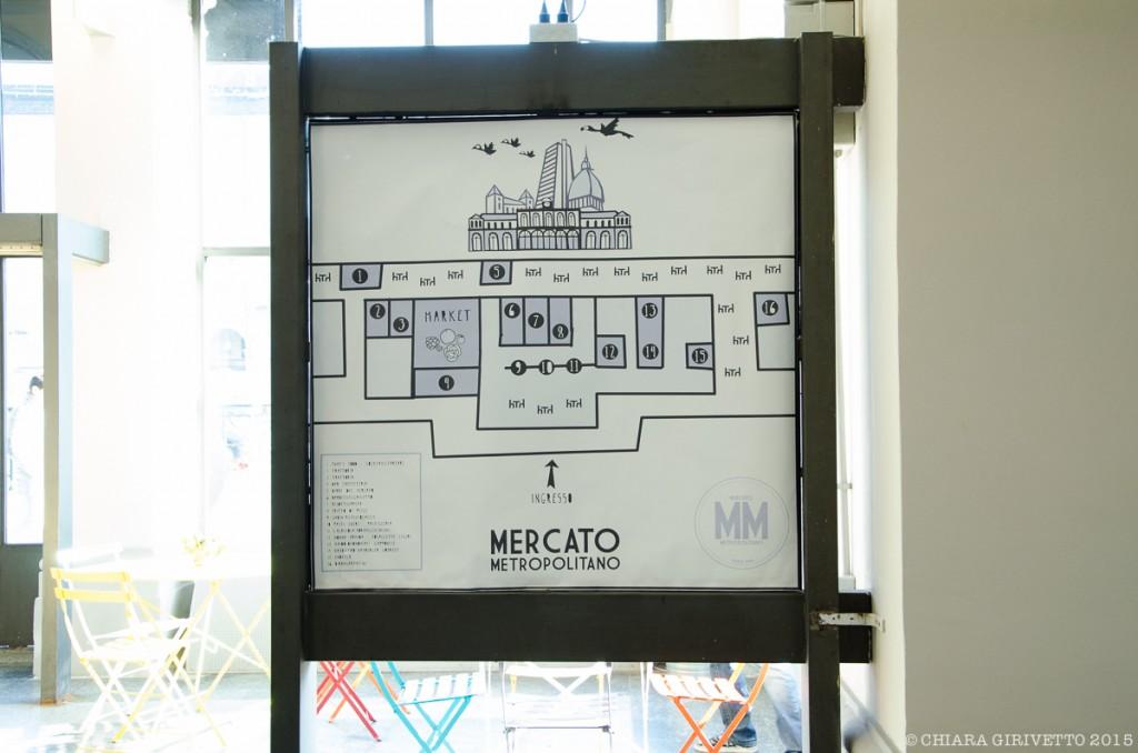 Mercato Metropolitano Torino mappa botteghe cibo