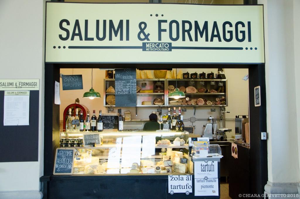 Mercato Metropolitano Torino salumi formaggi cibo