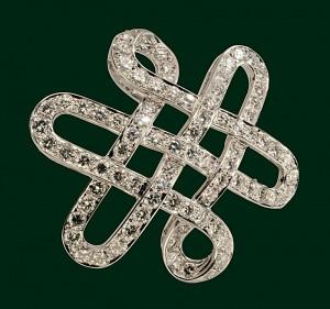 Enrico Cirio primitivi gioielli spilla diamanti