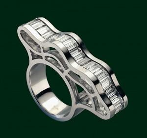 Enrico Cirio anello ponte metallo oro gioiello
