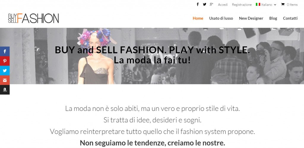 buy sell fashion header