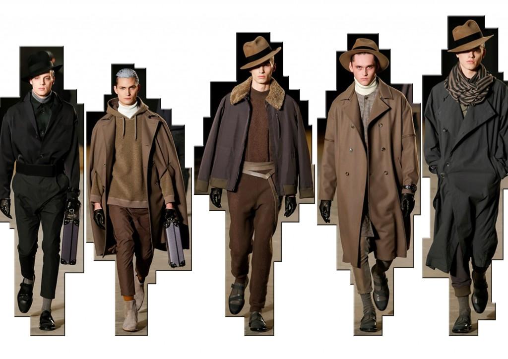 Robert Geller moda uomo f/w 2016-17