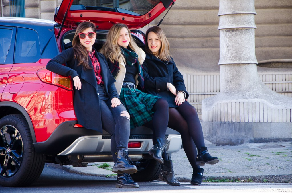 Torino Fashion Bloggers nel baule di Suzuki Vitara