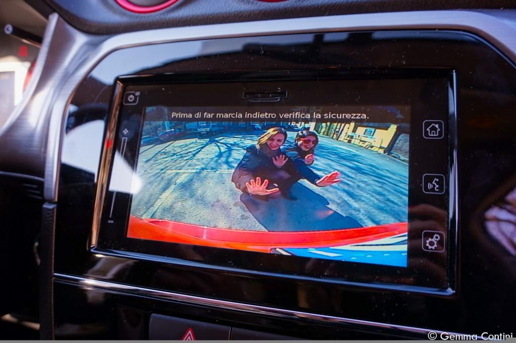 Suzuki Vitara Telecamera posteriore Elisa e Gemma