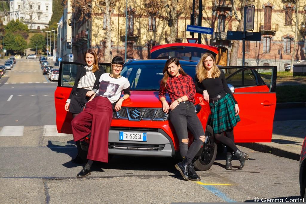 TorinoFashionBloggers Suzuki Vitara tour