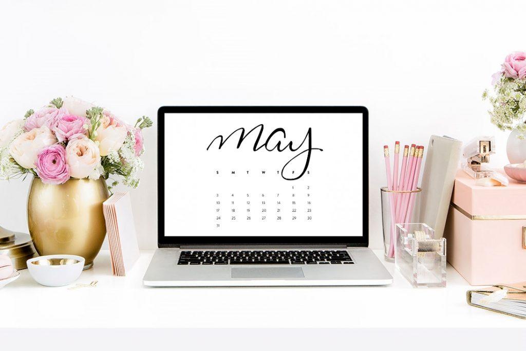 may calendar desktop