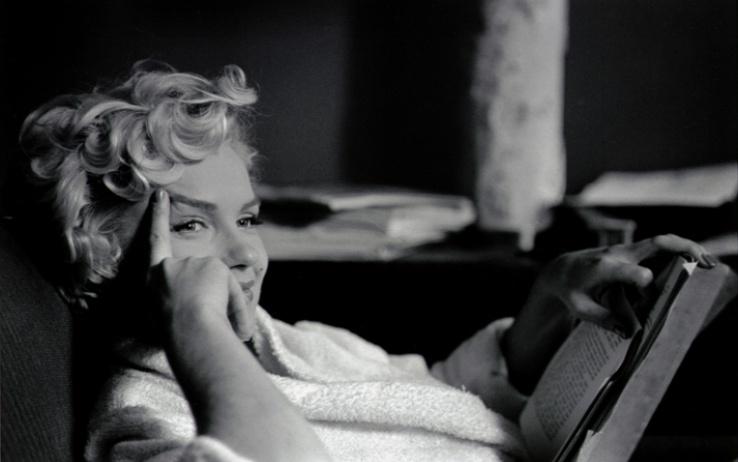 USA. New York. US actress Marilyn MONROE. 1956.