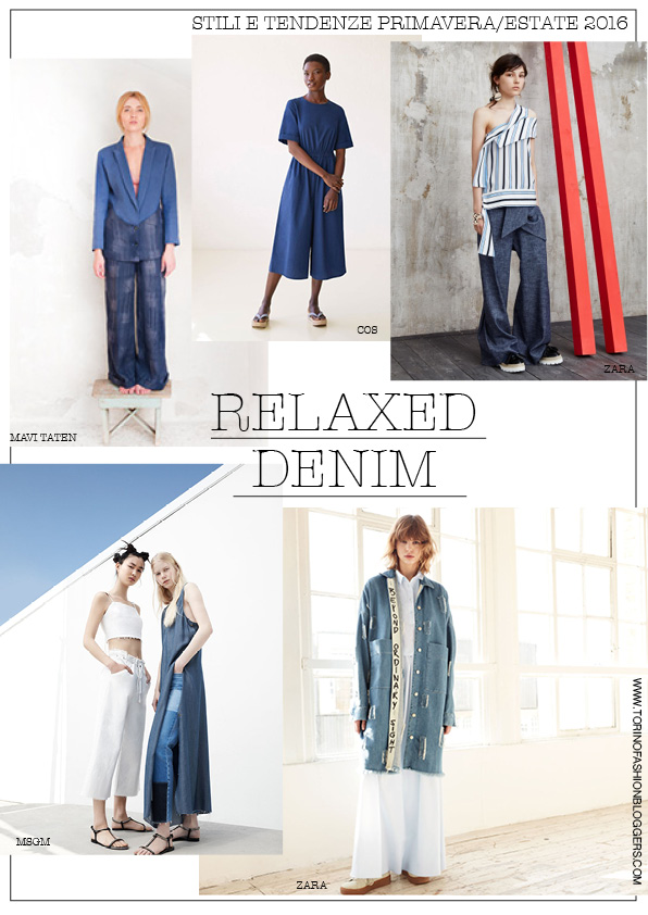 relaxed demin moodboard ss 2016