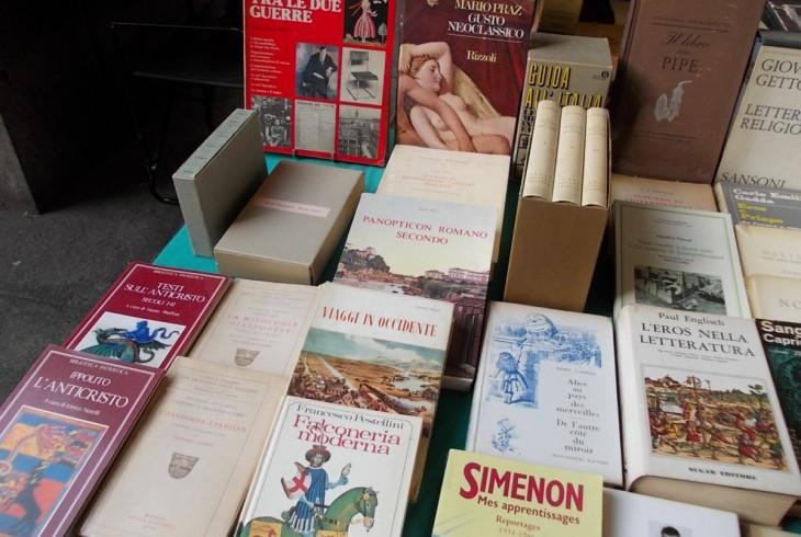 Il libro ritrovato mostra mercato Torino libri bancarelle Piazza Carlo Felice
