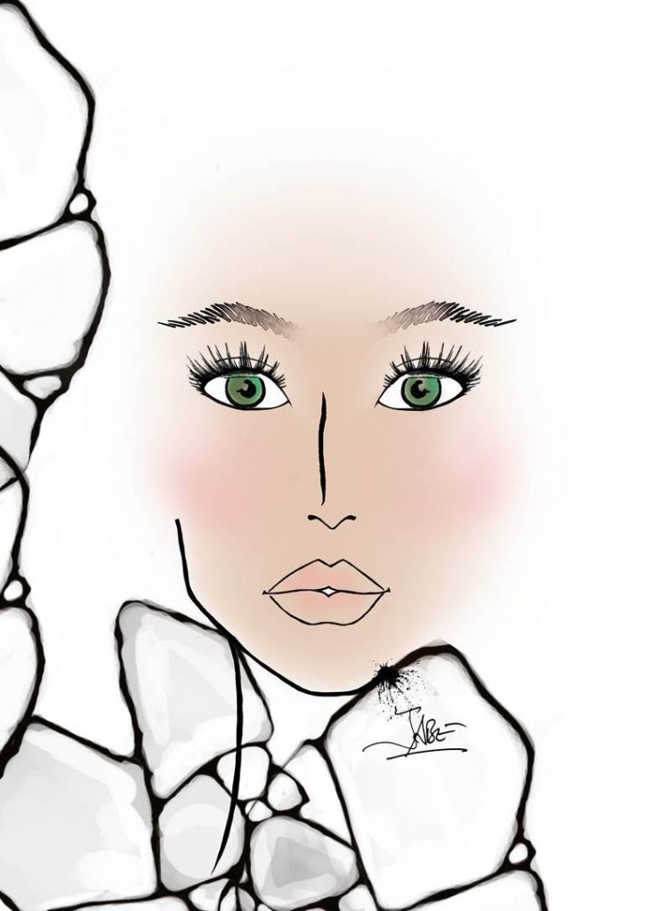 face chart clinique jabe