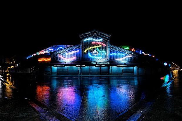 porta palazzo torino luci d'artista