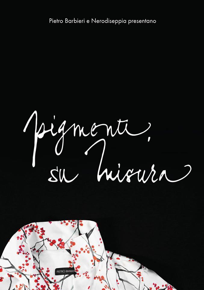 Pigmenti, su misura evento Nerodiseppia Pietro Barbieri foulard collezione moda