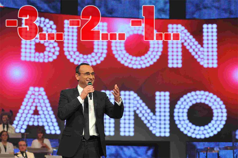 Capodanno tv rai1 countdown