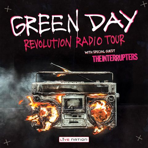 green day in tour a torino