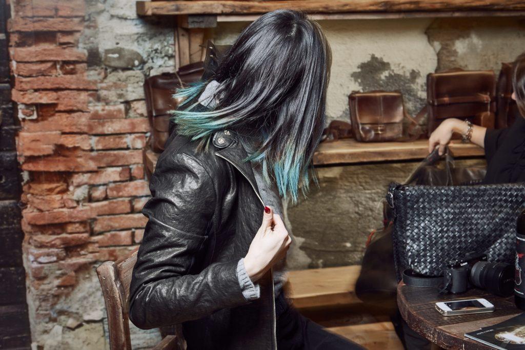Maledetti Toscani store Torino Montepulciano pelle giacca Chiara Girivetto