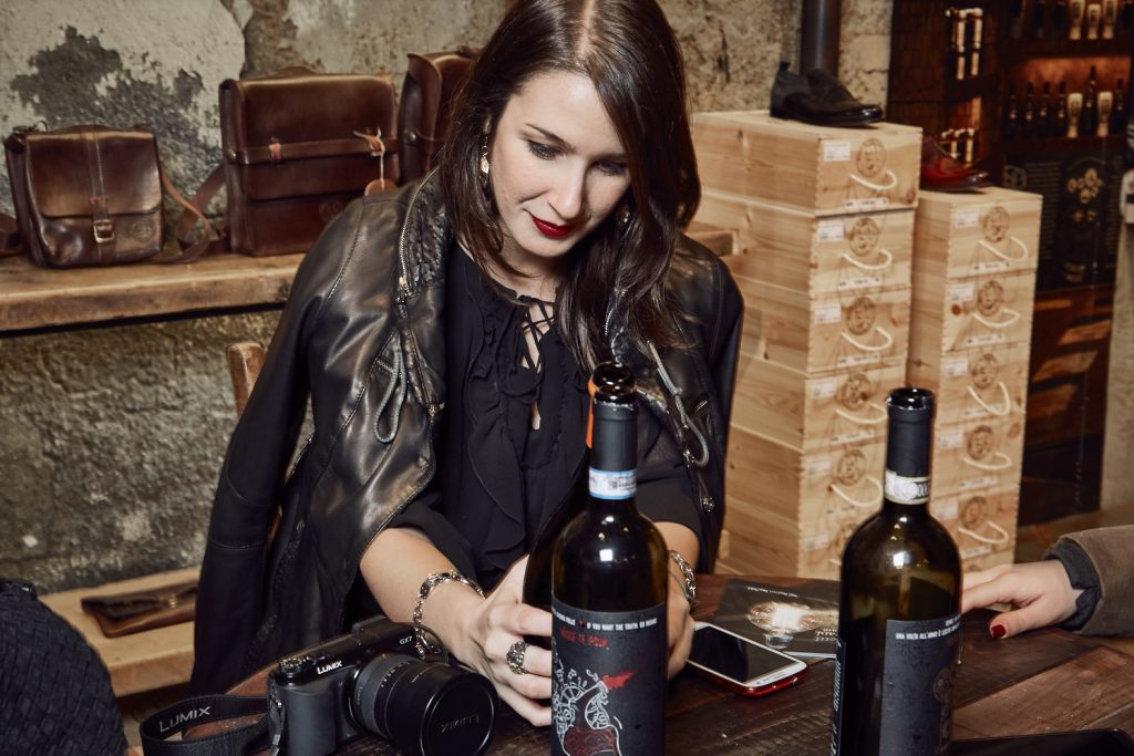 Maledetti Toscani store Torino Montepulciano pelle giacca vino Elisa Raimondo
