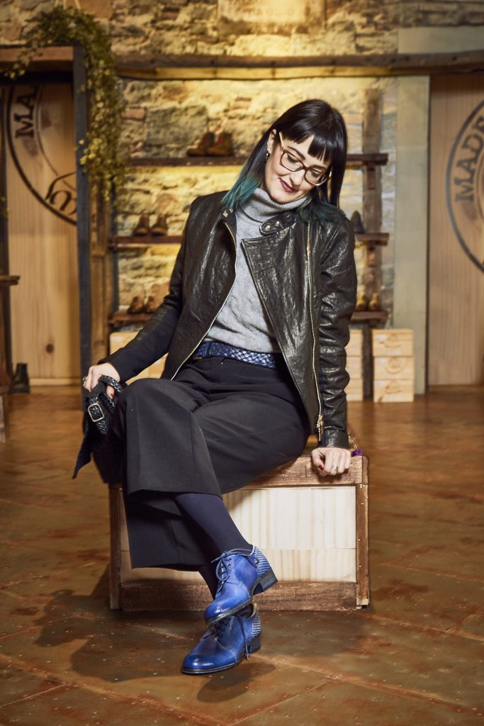 Maledetti Toscani store Torino Montepulciano pelle scarpe borsa Chiara Girivetto