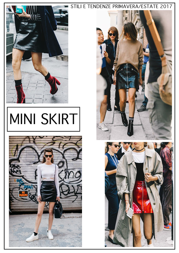 mini skirt minigonne