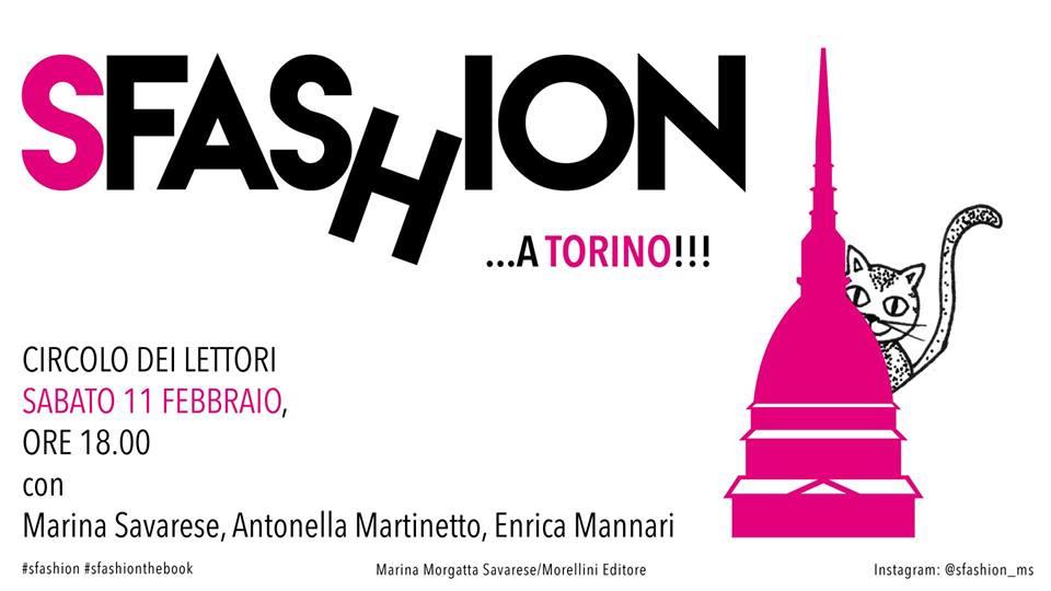 Sfashion eventi libro Torino moda Circolo dei Lettori eventi