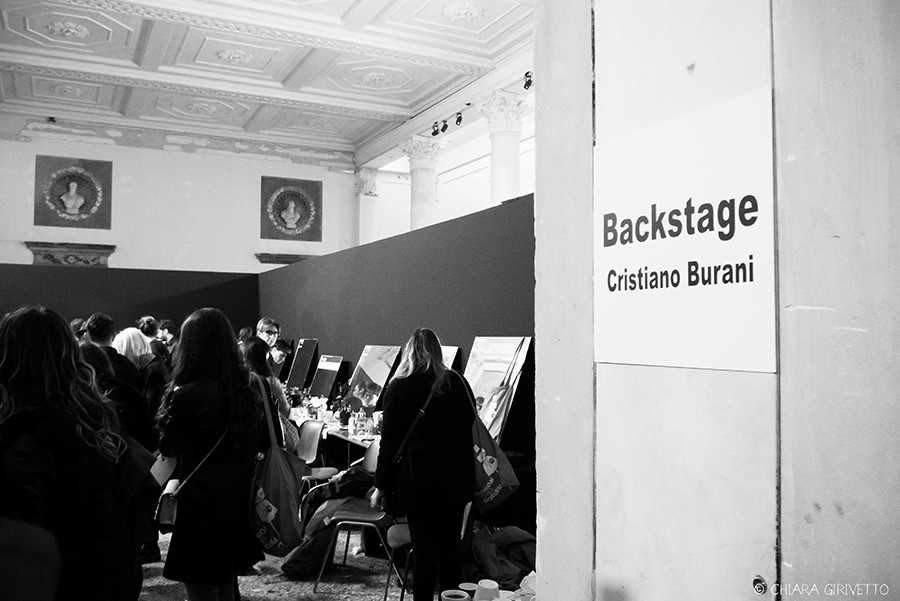 Clinique Cristiano Burani post punky make up milano fashion week Torino Fashion Bloggers backstage