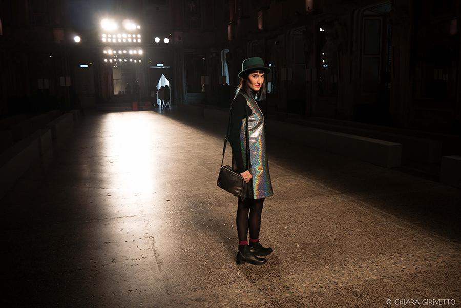 Chiara Girivetto Torino Fashion Bloggers Clinique Cristiano Burani Milano Fashion Week Palazzo Reale Sala delle Cariatidi