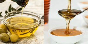 maschera labbra olio mandarla e miele