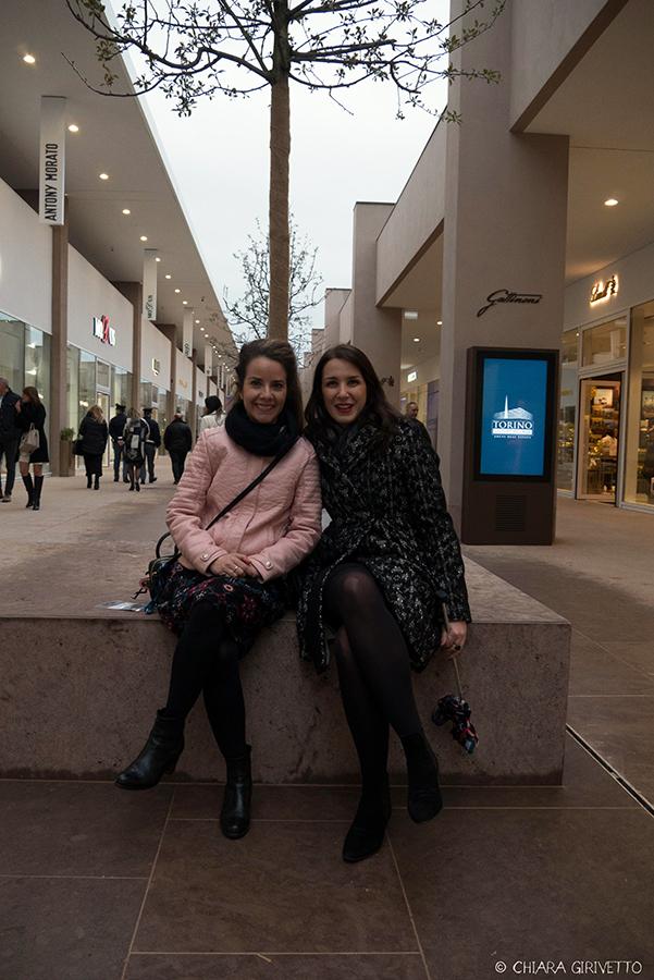 Torino Outlet Village party inaugurazione store firme negozi shopping Torino Fashion Bloggers Emily Grosso Elisa Raimondo