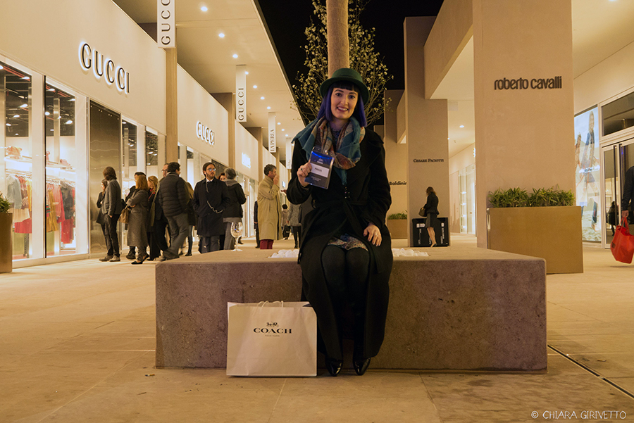 Torino Outlet Village party inaugurazione store firme negozi shopping Chiara Girivetto