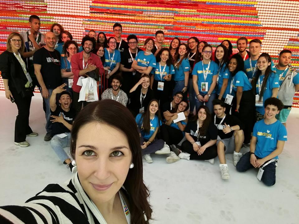 Bookstock Village Salone del Libro di Torino 2017 Padiglione 5 staff Elisa Raimondo selfie