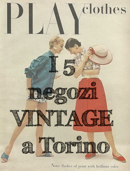 negozi vintage a TORINO