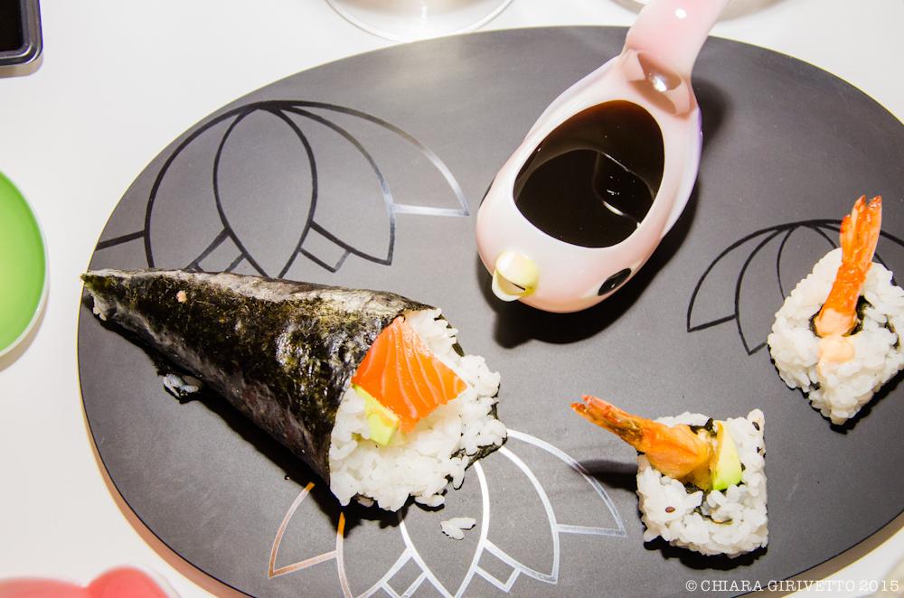 Temaki e Uramaki Kombu sushi Torino