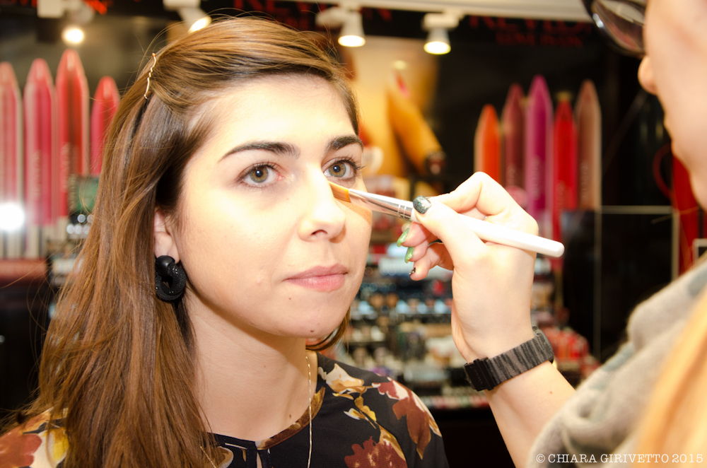 make up occhi verdi revlon torino fashion bloggers