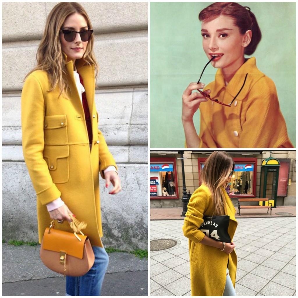 Gemelli cappotto giallo