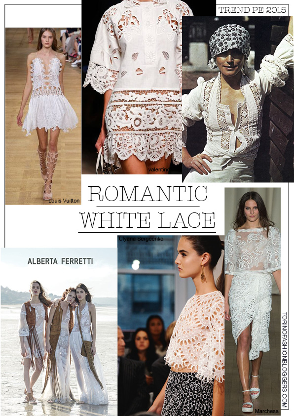 white lace trend summer