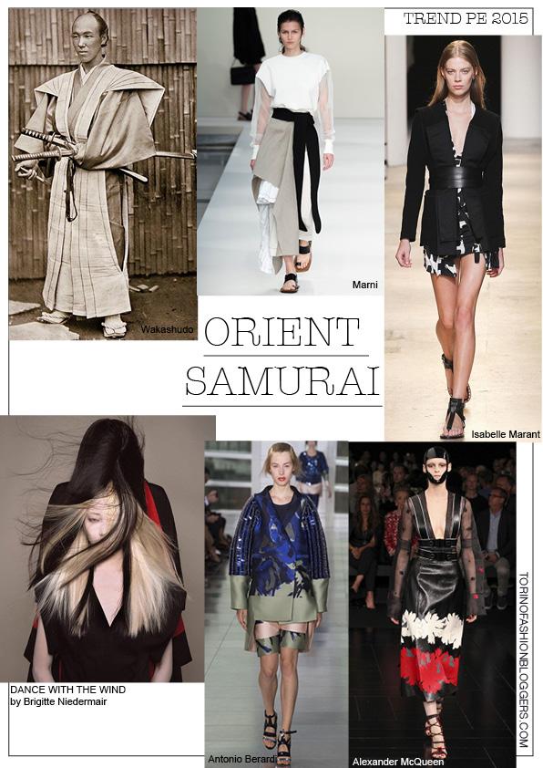 orient samurai tendenze primavera estate mood