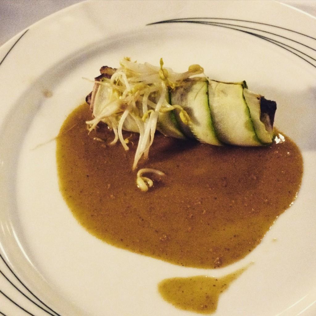 rotolino di zucchine con gvine gin food