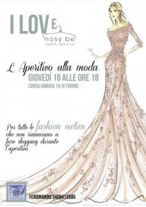 aperitivo alla moda Torino Nosy Be fashion