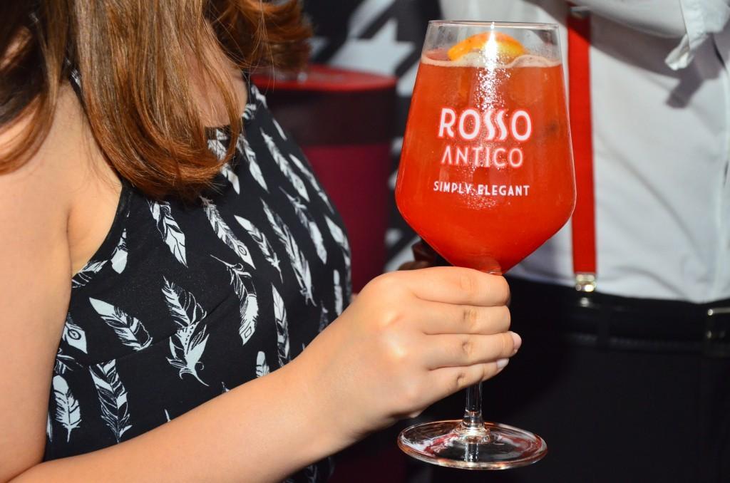aperitivo Simply elegant rosso antico