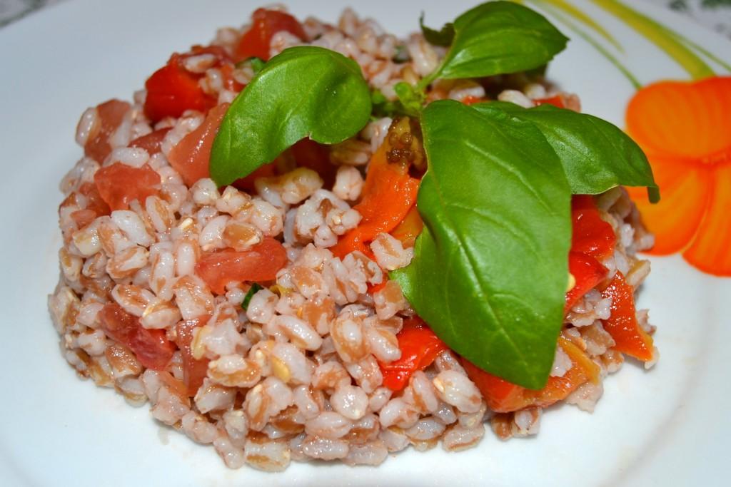 riso, basilico, food, green