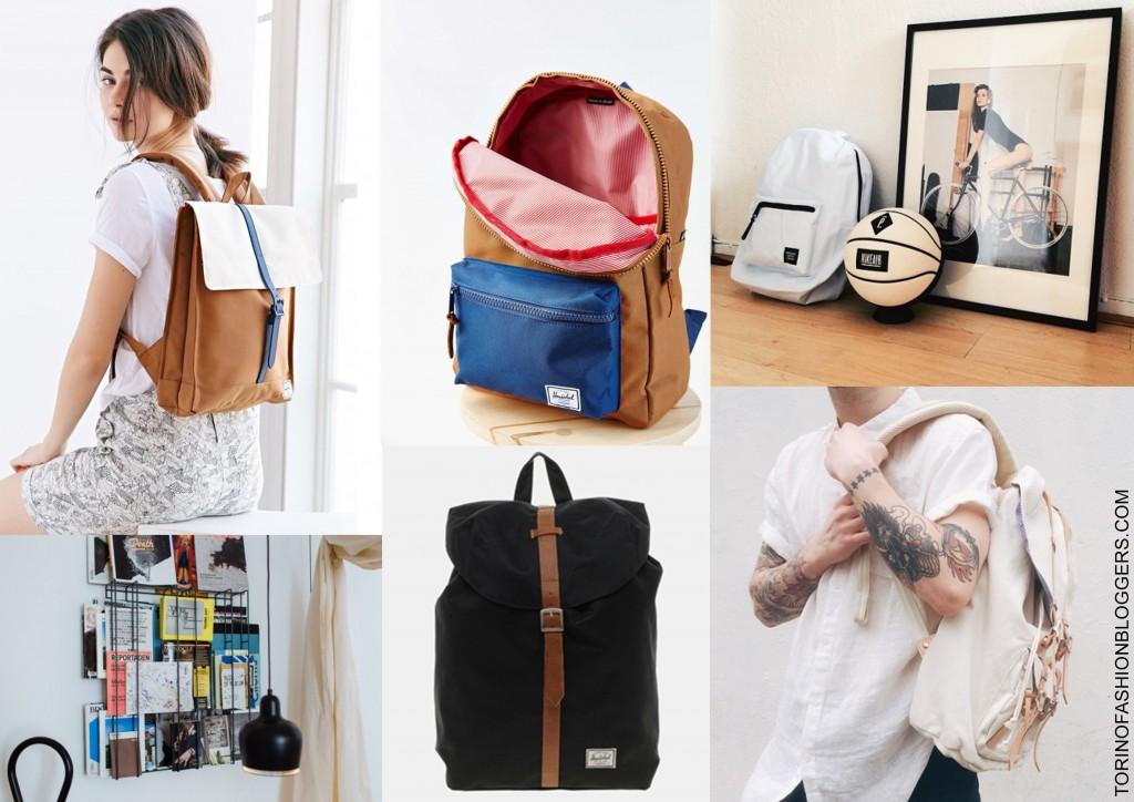 herschel, zaino, moodboard, back to school, marchio, brands, tendenze, vintage chic,
