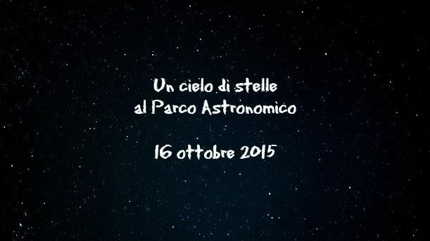 Evento Cielo di stelle