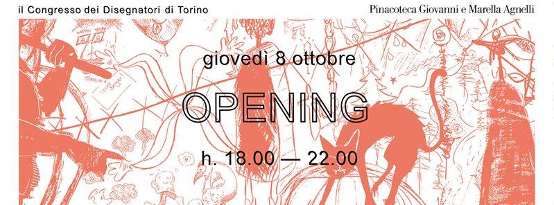 Opening Night Congresso Disegnatori Torino